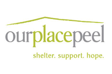 Our Place Peel shelter logo